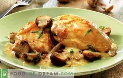 Pollo in panna acida in un fornello lento: prepara di più! Semplici ricette per cucinare il pollo in panna acida in un fornello lento per tutti i giorni