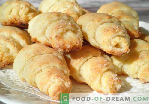 Ciambelle di ricotta - le migliori ricette. Come cucinare correttamente e gustosi bagel dalla pasta di ricotta.