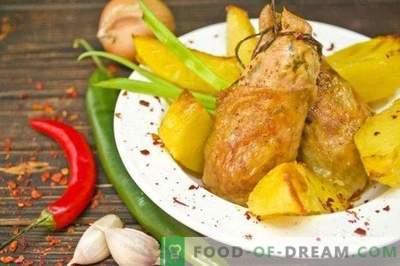 Пилешки котлети со ѓумбир и чили - Ориентален стил печено
