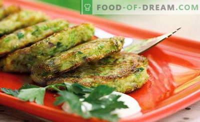 Le frittelle di zucchine sono le migliori ricette. Come cucinare correttamente e gustose le frittelle di zucchine.