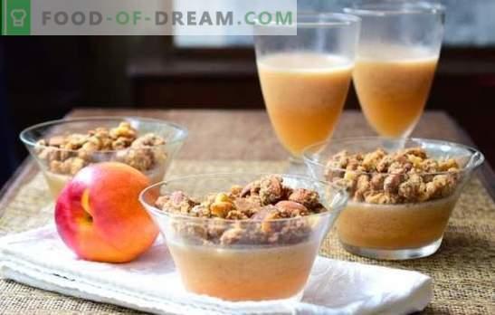 Composta gelatine - con parsimonia! Ricette per una gustosa composta di gelatina con frutti di bosco, polpa, cioccolato e cognac, strati di latte