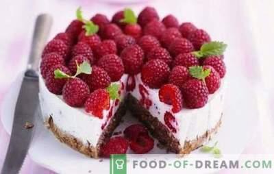 La torta di lamponi è una tentazione estiva per i denti dolci. Ricette per dolci estivi al lampone: lamponi nel dolce - la vita è bella!