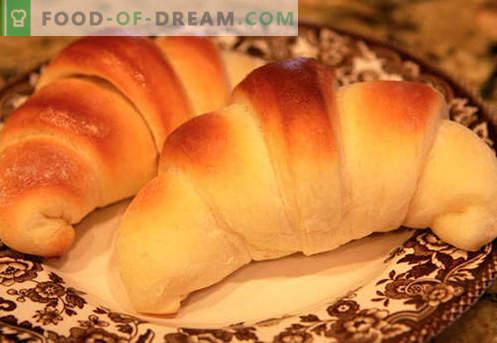 I bagel di lievito (a base di pasta di lievito) sono le migliori ricette. Come cucinare correttamente e gustosi bagel di lievito.