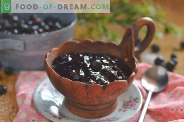 Marmellata di ribes nero - semplice, gustosa, utile!