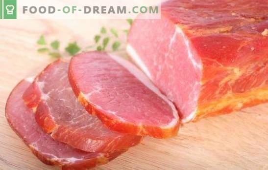 Il balyk di maiale a casa è un prodotto naturale! Tecnologia di cottura balyk da maiale a casa