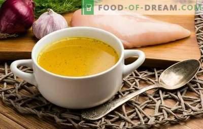 Come cucinare il brodo di pollo? Cosa può essere cucinato dal brodo di pollo profumato e come cucinarlo correttamente