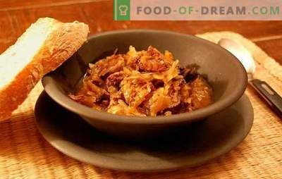 Bigus in a multivariate - a dish of the nation! Recipes of different bigus in a slow cooker: with cabbage, potatoes, meat, chicken