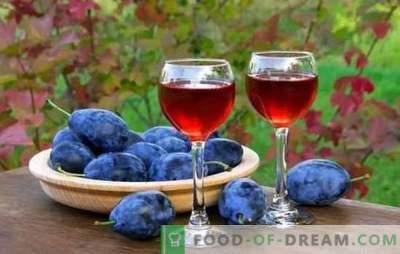 Tinctura de prune la domiciliu - plăcere de prune. Retete tinctura de prune de casa pe vodca, pe alcool, pe brandy
