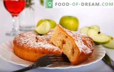 Diet sharlotka con mele - non influenzerà la vita! Ricette e trucchi per cucinare la dieta Charlotte con mele