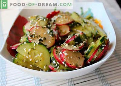 Insalate giapponesi - le migliori ricette. Come cucinare correttamente e gustoso insalata giapponese.