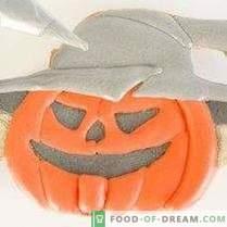 Biscotti per zucche di Halloween