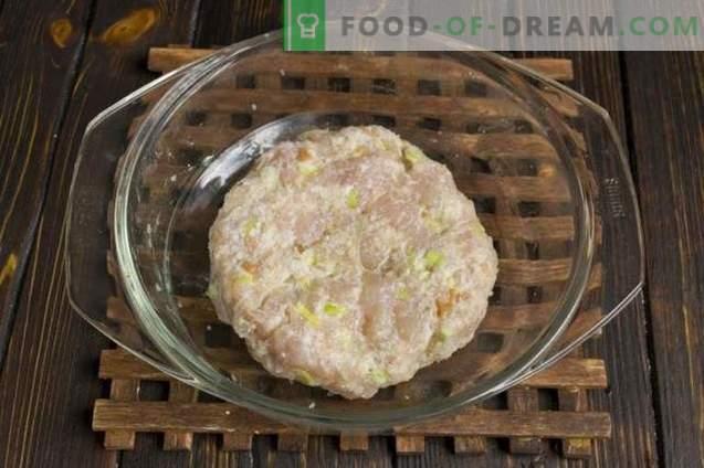 Cotolette con condimento e pomodorini al forno