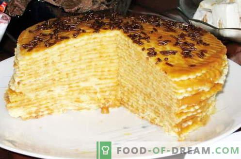 Torta fatta dalla torta - le migliori ricette. Come correttamente e gustoso fare una torta dalla torta.