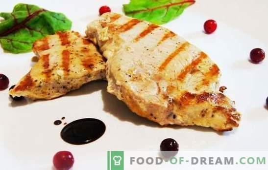 La bistecca di tacchino può essere succosa! Ricette di bistecca di tacchino con verdure, ciliegie, miele, arance