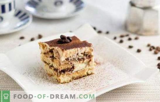 Deliziosi e semplici dessert: prepara dolci veloci a casa! Le ricette più semplici per dessert a base di biscotti, bacchette, frutta, panna acida e panpepato
