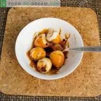 Kipsalade met kiwi en noten