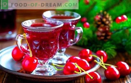Liquore alla ciliegia: colori vivaci dell'estate in un bicchiere! Ricette al liquore di ciliegie: tre modi di fare: l'arte dei maghi domestici