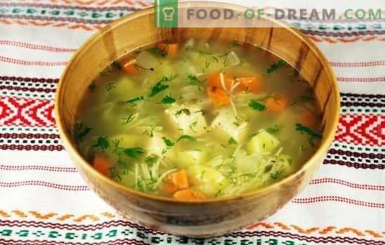 Zuppa di pollo con patate: un piatto appetitoso e nutriente. Preparazione adeguata di zuppa di pollo con patate