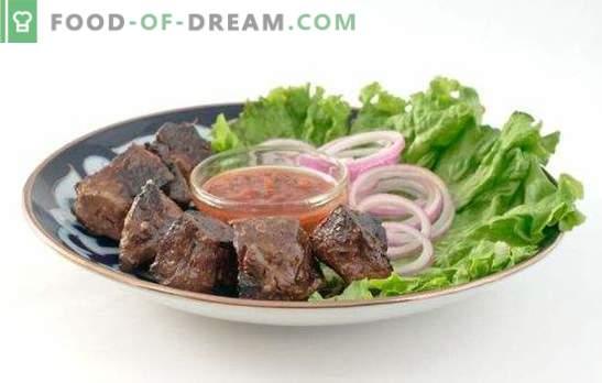 Fegato di manzo fritto: tutto il segreto della freschezza del prodotto! Ricette di fegato di manzo arrosto: panna acida, pomodoro e salsa di soia