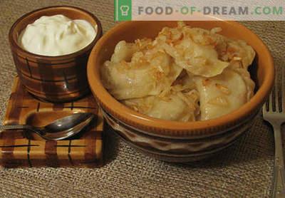 Gli gnocchi al choux sono le migliori ricette. Come correttamente e gustosi gnocchi di crema pasticcera a casa.