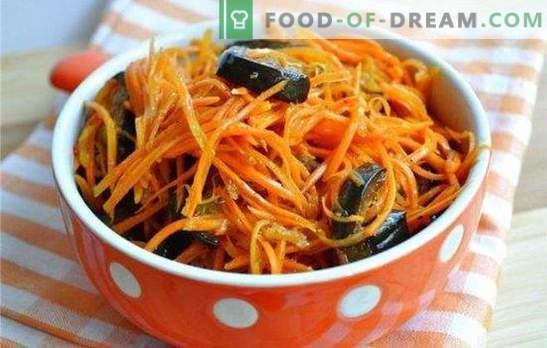 Le melanzane sottaceto con carote per l'inverno sono uno spuntino salutare. Come far fermentare le melanzane con le carote per l'inverno - una selezione dei migliori spazi