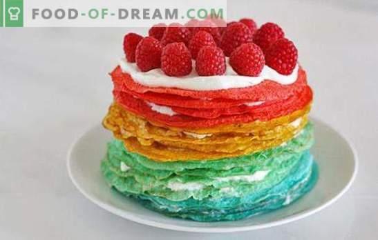 Pancake cake con panna acida: un dessert insolito o uno snack originale? Ricette di pancake con panna acida per tutte le occasioni