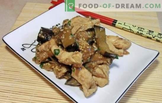 Melanzane con carne in cinese - sulle orme del misterioso Oriente. Ricette di melanzane cinesi con carne in diverse salse