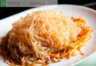 Fideos de arroz - las mejores recetas. Cómo cocinar correctamente y sabroso los fideos de arroz en casa.