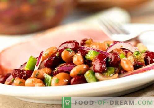 Insalata di fagioli rossi - Ricette provate. Come cucinare un'insalata di fagioli rossi.
