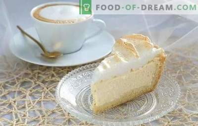 """Angel's Tears: a step-by-step recipe for the most delicate dessert. Secrets of making a cake or pie """"Angel's Tears"""", step-by-step recipes"""