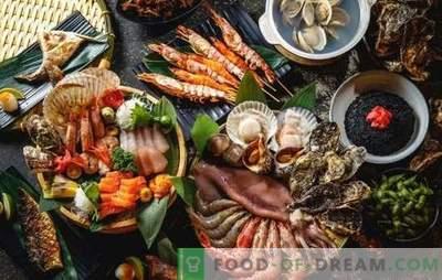 Tavola a tema di Capodanno: solo pesce e frutti di mare