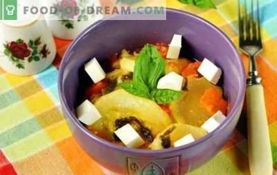 Zucchine al vapore in una pentola a cottura lenta - le vitamine non sfuggiranno! Ricette di zucchine al vapore in un fornello lento: con zenzero, miele, ricotta e brandy