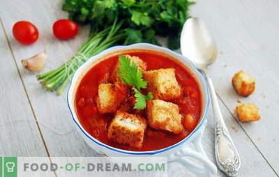 Zuppa con concentrato di pomodoro - ciao, Italia! 8 ricette di deliziose zuppe con concentrato di pomodoro: con riso, noodles, verdure, polpette