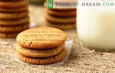 Ricette per biscotti al latte per il tè fatto in casa. Miele, cioccolato, noce e tante altre ricette per biscotti su latte