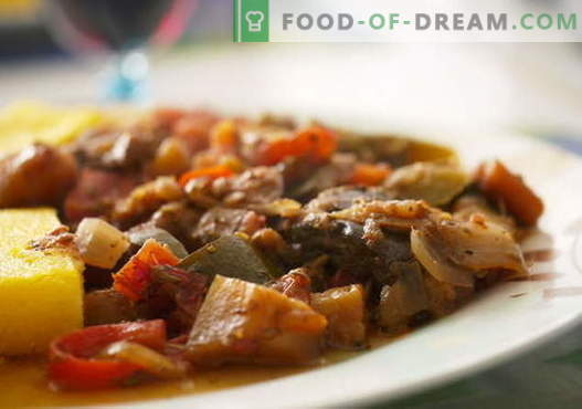 Melanzane con carne - le migliori ricette. Come cucinare correttamente e gustoso melanzane con carne.
