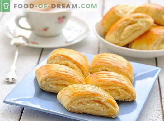 Puff buns - le migliori ricette. Come cucinare in modo appropriato e gustoso i panini a domicilio