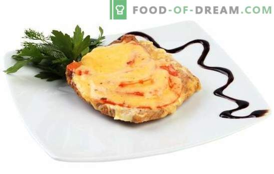 La carne di maiale con formaggio e pomodori è un piatto a parte e aggiunta al contorno. Le migliori ricette di maiale con formaggio e pomodori