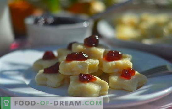 Gnocchi pigri: ricette passo dopo passo. Come cucinare deliziosi gnocchi pigri con ricotta, patate, banana, cioccolato