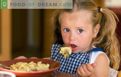 Gnocchi per bambini: un po 'di creatività! Ricette per diversi gnocchi per bambini: pigri, con ricotta, carne, frutti di bosco, verdure