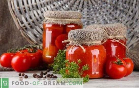 Pomodori marinati per l'inverno - il gusto e l'odore dell'estate. Suggerimenti importanti e ricette originali: come raccogliere i pomodori per l'inverno