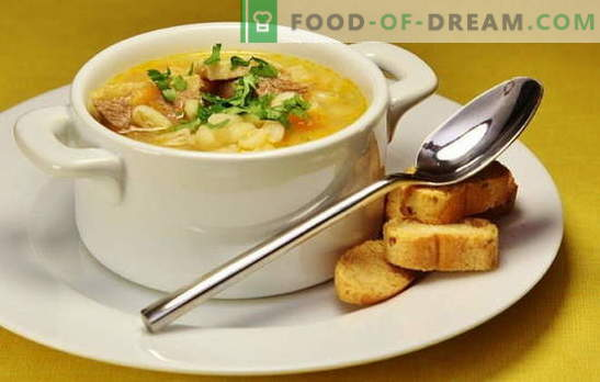Zuppa d'anatra: vegetale, con asparagi, riso, piselli, speziato. Ricette per zuppe d'anatra saporite e ricche, zuppa d'anatra