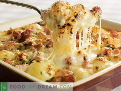 Patate francesi - le migliori ricette. Come cucinare correttamente e gustoso patate in francese.