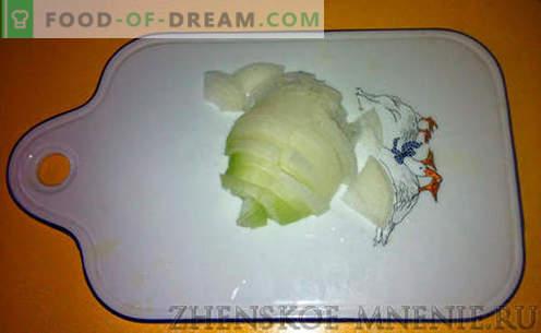 Zuppa con fagioli rustici - ricetta con foto e descrizione passo passo