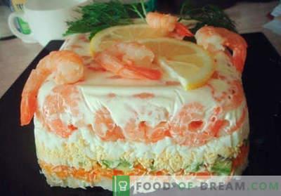 Torta di insalata - le migliori ricette. Come preparare correttamente e deliziosamente una torta di insalata.