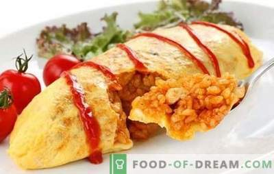 L'omelette giapponese con riso è un piatto familiare in una nuova variante. Sei ricette originali di frittata giapponese con riso