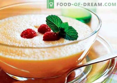 Purea di frutta: le migliori ricette. Come correttamente e gustoso per preparare purea di frutta.