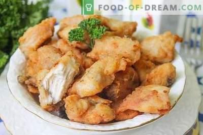 Filetto di pollo - spuntino di carne croccante e appetitoso