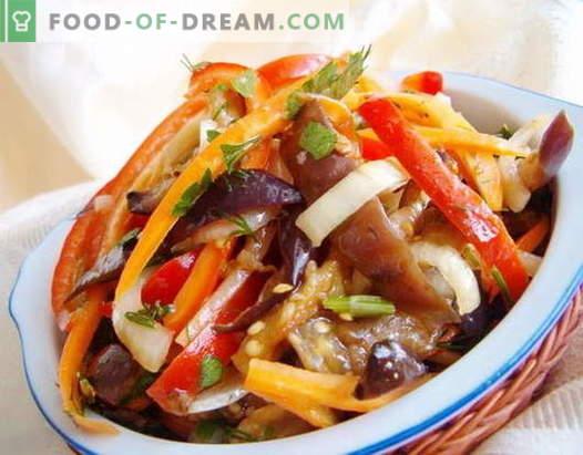 Insalate coreane - le migliori ricette. Come cucinare insalate coreane e gustose.