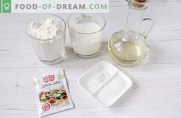 Ciambelle di lievito con latte: faremo felici i nostri animali domestici! Passo dopo passo la ricetta fotografica dell'autore per le ciambelle con il lievito sul latte - tutto in dettaglio