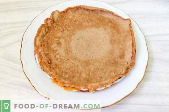 Torta al fegato dal fegato di pollo (foto-ricetta): il segreto della succosità! Step by Step Cucinare la torta di fegato di pollo con le foto